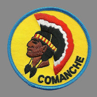 Comanche Patch - Native American Indian