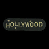 Hollywood Patch - California Souvenir - Gold Text