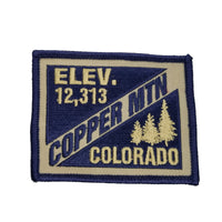 Copper Mountain Colorado Patch – CO Patch – Elevation 12,313 Colorado Souvenir – Travel Patch – Iron On – Applique Ski Resort Ski Patch