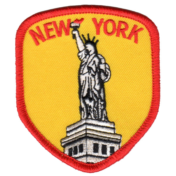 New York City Statue of Liberty Patch Iron On