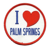 Palm Springs Patch - I Love Palm Springs - California Souvenir