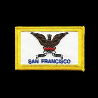 San Francisco Patch - California Souvenir - Phoenix  SF CA Flag