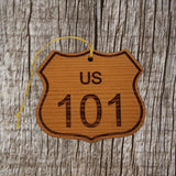 California Ornament - Road Sign - Highway 101
