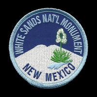 White Sands National Monument Iron on Patch New Mexico