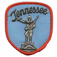 Tennessee Patch – TN Souvenir – Tennessee Statue Applique or Embellishment Travel Patch – Vintage Patch