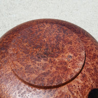 Redwood Bowl Burl Hand Turned 9 Inch Wood Salad Bowl Redwood Gorgeous Grain #A7