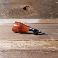 Wine Stopper Redwood Live Edge Rustic Redwood Burl Hand Turned Handmade 121