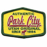 Park City Utah Patch – Mountain Resort UT – Travel Patch Iron On 3″