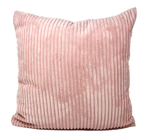 Peach Corduroy Pillow Cover