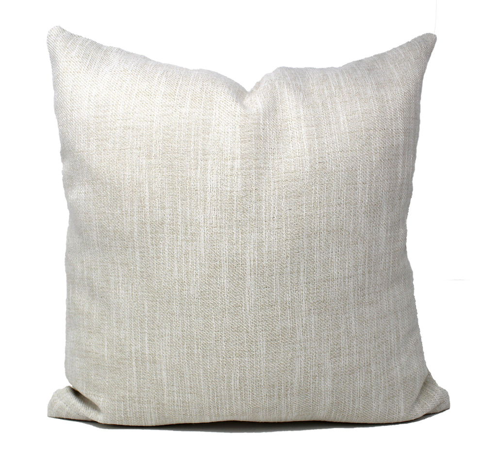 Eggshell Linen Pillow Cover