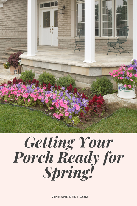 5 Ways to Get Your Porch Ready for Spring!