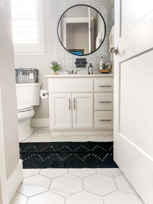 Bathroom Tile Refresh