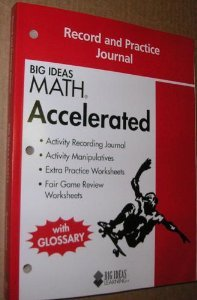 Big Ideas Math Accelerated: Record & Practice Journal