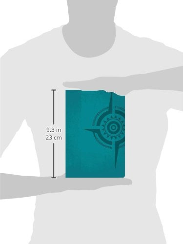 The Voice, Compass Study Bible, Leathersoft, Turquoise: The Study Bible For Navigating Your Life