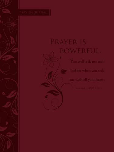 Prayer Is Powerful: Scripture Journal