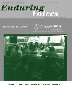 Enduring Voices Document Sets, Vol. 2