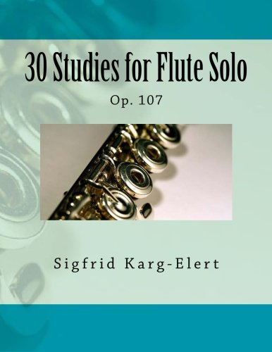 30 Studies For Flute Solo: Op. 107