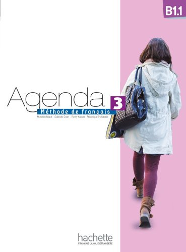 Agenda 3 B1.1: Livre De L'Lve + Dvd-Rom (French Edition)