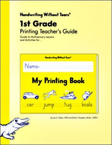 Handwriting Without Tears 1St Grade Printing Teacher'S Guide - My Printing Book