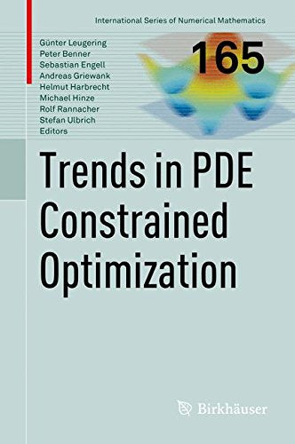 Trends In Pde Constrained Optimization (International Series Of Numerical Mathematics)