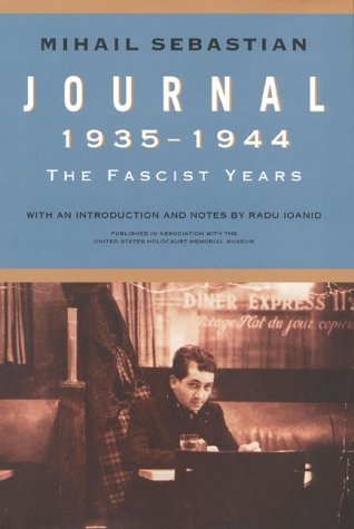 Journal 19351944: The Fascist Years