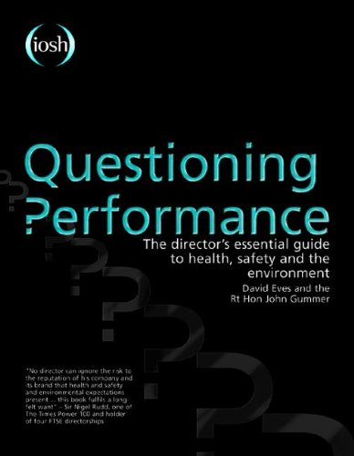 Questioning Performance: The Director'S Essential Guide To Health, Safety And The Environment