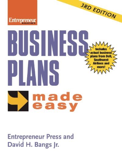 Business Plans Made Easy: A Pow'S Journey (Entrepreneur Made Easy Series)