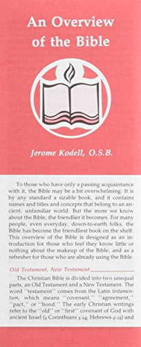 An Overview Of The Bible