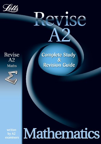 Maths: Study Guide (Letts A2 Success)