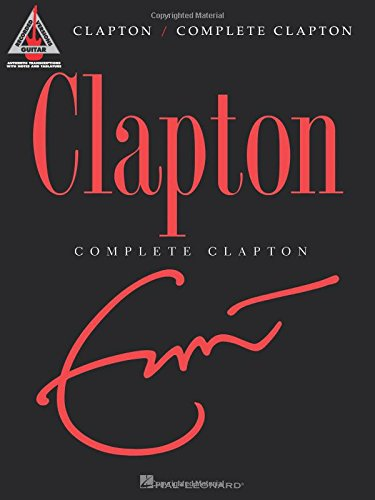 Fender Complete Clapton Songbook Music Staff Paper (Guitar Recorded Versions)