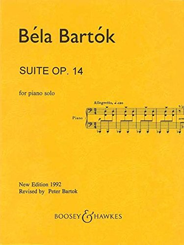 Bartk: Suite For Piano, Op. 14 (Sz. 62, Bb 70)
