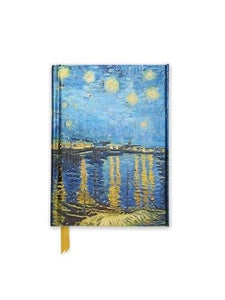 Van Gogh: Starry Night Over The Rhone (Foiled Pocket Journal) (Flame Tree Pocket Books)