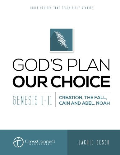 God'S Plan Our Choice: Genesis 1-11, Creation, The Fall, Cain And Abel, Noah (Crossconnect) (Volume 4)