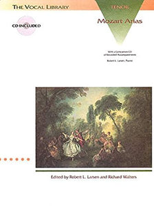 Mozart Arias For Tenor: The Vocal Library Bk/Online Audio