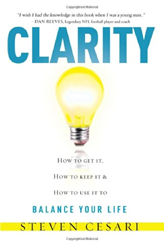 Clarity: Howto Get It, How To Keep It & How To Use It To Balance Your Life