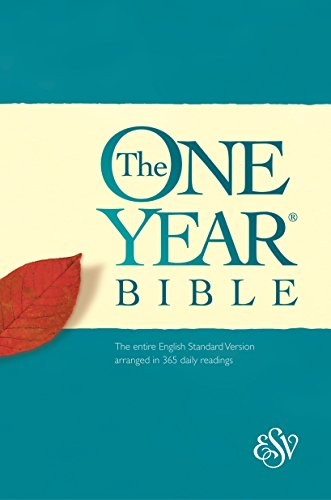 Esv One Year Bible, Hardcover, Black Letter Text
