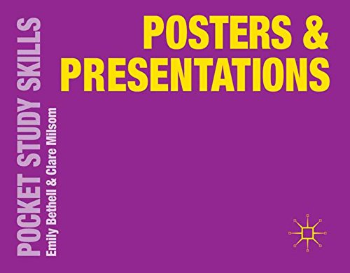 Posters And Presentations (Pocket Study Skills)