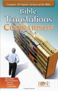 Bible Translations Comparison Pamphlet: Compare 20 Popular Versions Of The Bible (Compare 20 Bible Translations)
