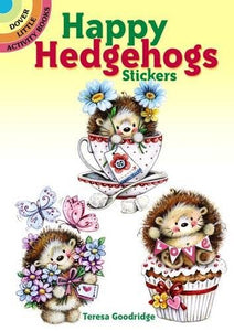 Happy Hedgehogs Stickers (Dover Little Activity Books Stickers)