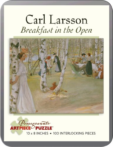 Carl Larsson - Breakfast In The Open: 100 Piece Puzzle