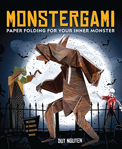 Monstergami: Paper Folding For Your Inner Monster (Sterling Children'S Origami)