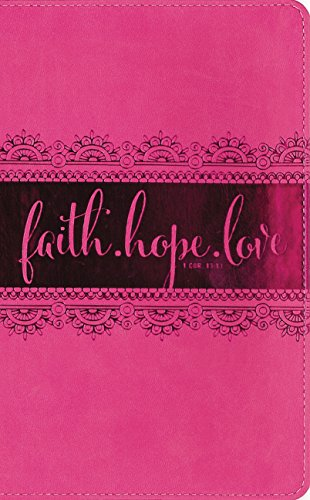 Niv, Bible For Teen Girls, Leathersoft, Pink: Growing In Faith, Hope, And Love