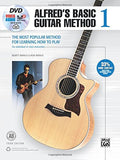 Alfred'S Basic Guitar Method, Bk 1: The Most Popular Method For Learning How To Play, Book, Dvd & Online Audio, Video & Software (Alfred'S Basic Guitar Library)