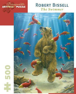 Robert Bissell - The Swimmer: 500 Piece Puzzle (Pomegranate Artpiece Puzzle)