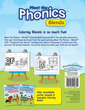 Meet The Phonics - Blends - Coloring Book