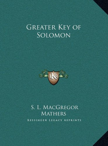 Greater Key Of Solomon