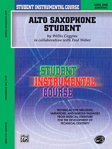 Student Instrumental Course Alto Saxophone Student: Level I