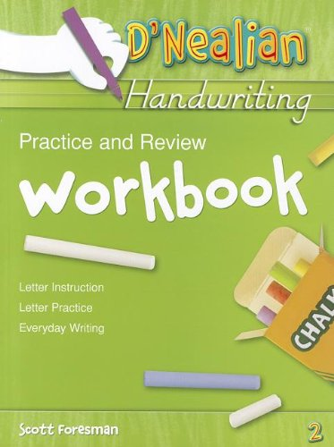 D'Nealian Handwriting Practice And Review Workbook -2