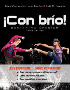 !Con Brio!, Binder Ready Version: Beginning Spanish (Spanish Edition)