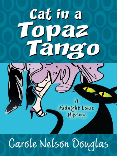 Cat In A Topaz Tango (Thorndike Press Large Print Mystery Series)